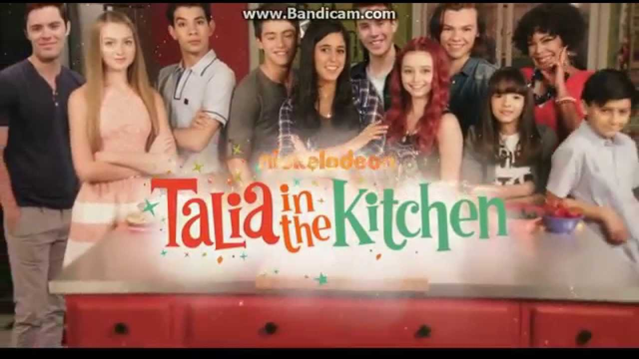 The Kitchen Cast nickelodeon talia in the kitchen season 1b opening - youtube