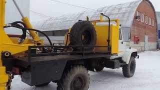 УРБ 2а2 мини на шасси ГАЗ 33081 Садко БУРМАШ г. Миасс
