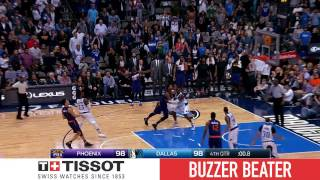 Tissot Buzzer Beater: Devin Booker's Jumper Gives Suns Win | 03.11.17