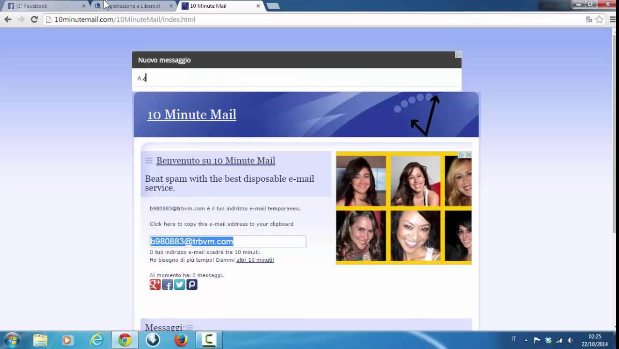 Come creare indirizzo email libero