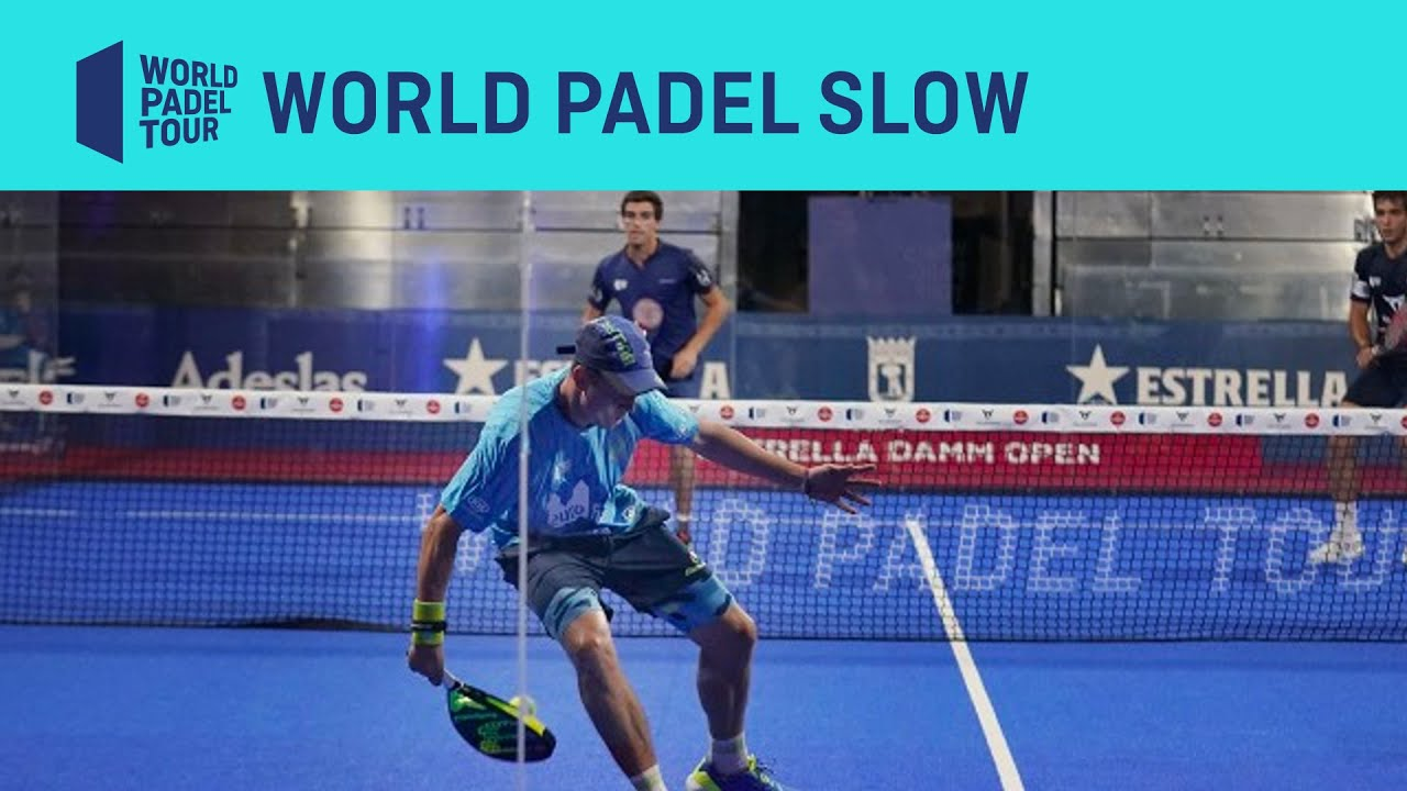 World Padel SLOW en el Estrella Damm Open 2020