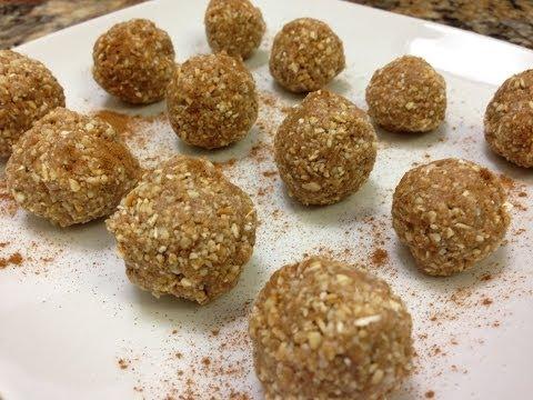Cinnamon Maple Protein Balls Recipe HASfit Healthy Protein Snacks Gluten Free Vegan