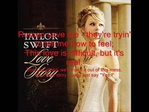Love Story-Taylor Swift(Pop Version)