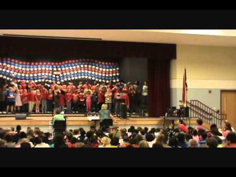 Harris Creek Elementary School 3rd Grade Veterans' Day Program