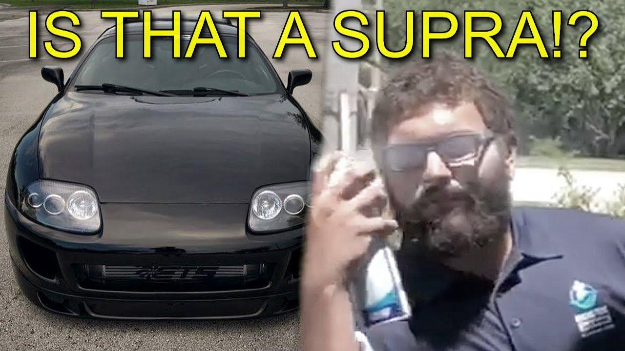 Is That A Supra Trc Supra Blackdawg Teaser Imv Films Mk4 2Jz Turbo Toyota Import Acceleration