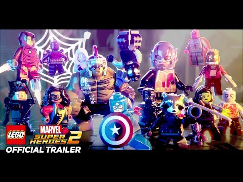 LEGO Marvel Superheroes 2 - Announce Trailer