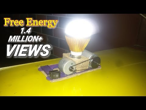 Free Energy LED light  12v-Using piezo lgniter