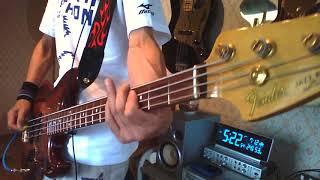 陰陽座の 鳳翼天翔をBassで弾いてみました~(^^; 2,3日練習してか...