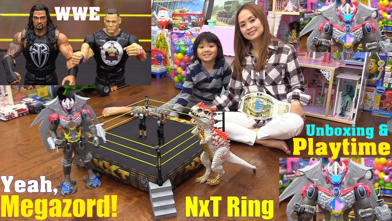 Toys R Us Wwe Rings : Power rangers megazord action figure wwe tough talkers