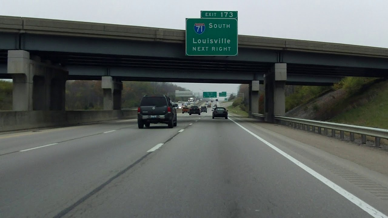 i 75 mile marker map kentucky Interstate 75 Kentucky Exits 171 To 173 Northbound Youtube i 75 mile marker map kentucky