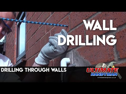 Drilling through walls