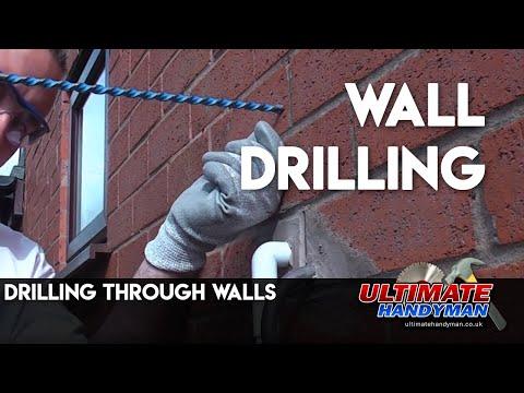 Drilling Through Walls