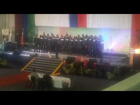 WSU Mthatha campus choir Male Voice Umsunduzi river