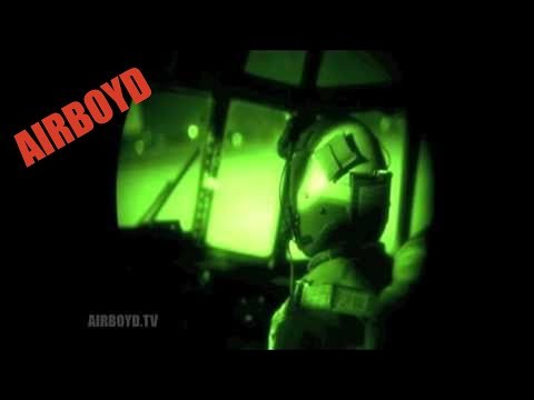 C-130 NVG Takeoff And Landing