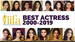 IIFA Awards | Every Best Actress Winner | 2000-2019 | Rani | Vidya | Aishwarya | Deepika | Alia