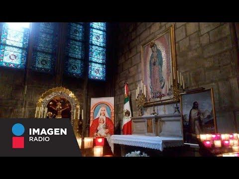 Capilla a la Virgen de Guadalupe en Notre Dame no sufrió daños / Primera Emisión