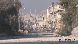 PTV news 13 Dicembre 2016 - Daesh agonizza a Aleppo, ma attorno a Palmira si combatte di nuovo