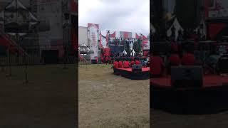 Soundcheck Kotak Band menyanyikan lagu Beranikan Dirimu perdana di Kediri (25 November 2018)