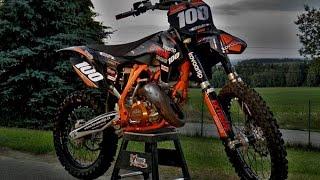 Download Video Motocross - Two Stroke Power Sound - Raw (NO MUSIC) KTM SX 125 MP3 3GP MP4