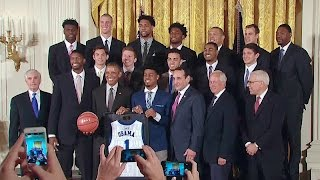 The President Honors the Duke Blue Devils, the 2015 NCAA Men's Champions