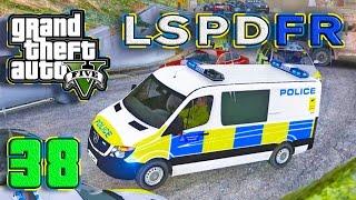 gta 5 pc lspdfr 38 more seats more arrests sprinter uk police