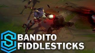 Bandito Fiddlesticks Skin Spotlight - Pre-Release - League of Legends