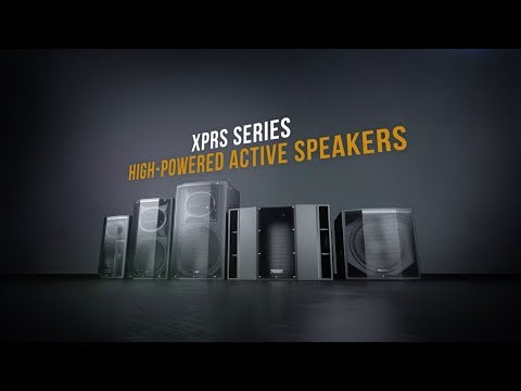Pioneer Pro Audio - XPRS Series - Introducing New Models XPRS10 & XPRS115S