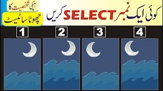 What type of a person are you really urdu hindi | Pick one Personality Test | What do you see