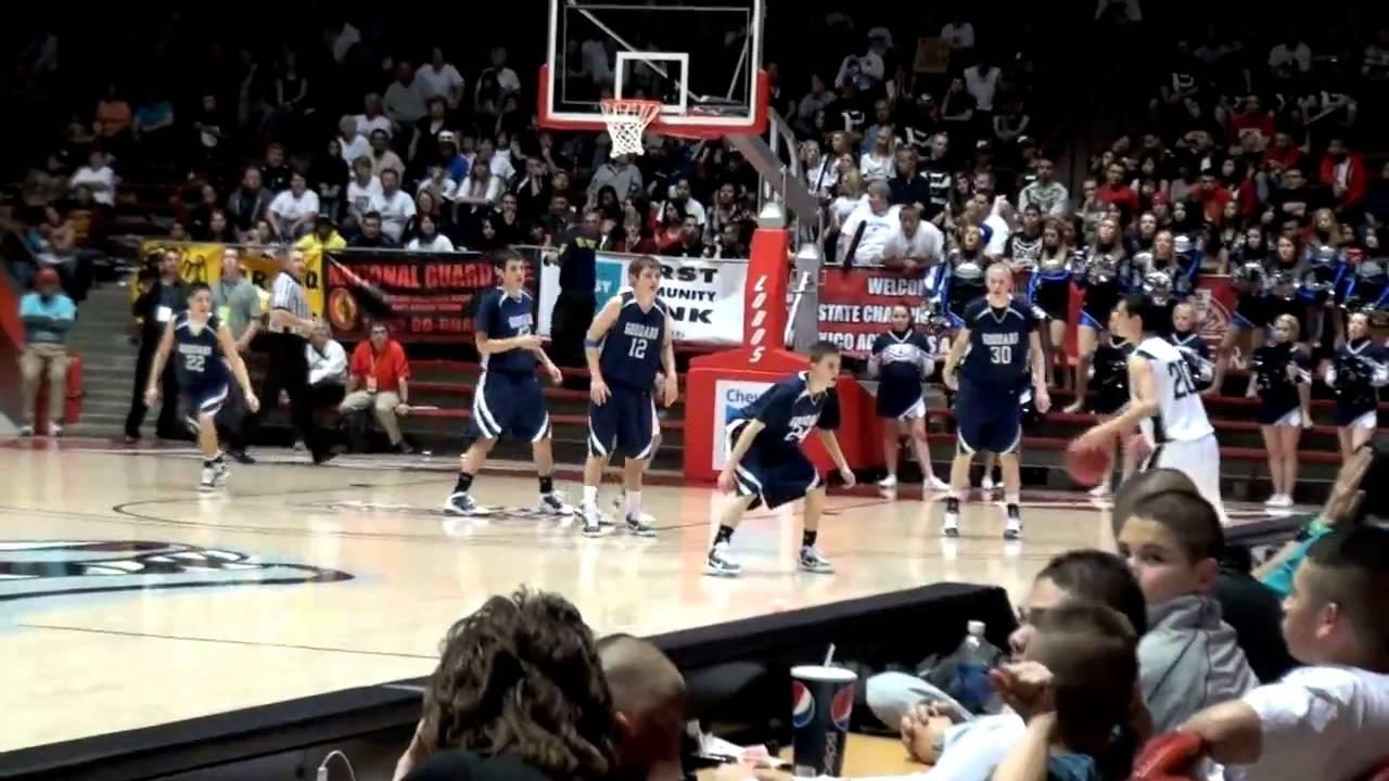 New Mexico High School Basketball Tournament Goddard Over Piedra Vista Youtube