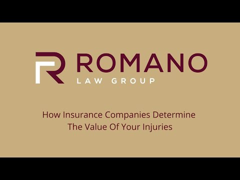 Lawyer Todd Romano On How Insurance Companies Determine The Value Of Your Injuries