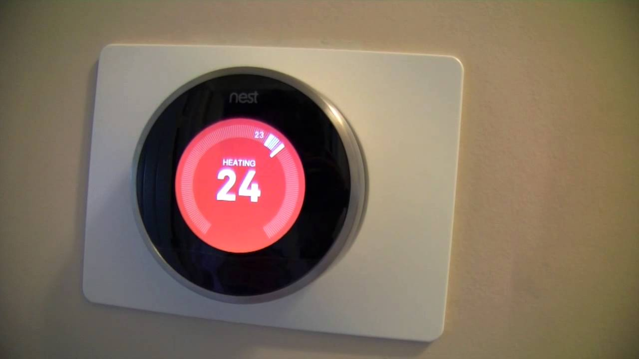 DIY How To Install A Nest Thermostat   YouTube