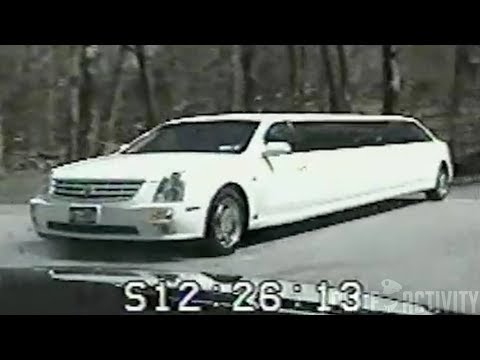 Backwards Limo-Driving Police Chase - 2006