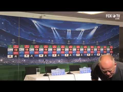 Pressemøde LIVE kl.16:30: F.C. København vs. Bayer Leverkusen