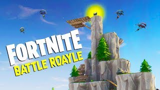 The SECRET MOUNTAIN CLIMB and LEGENDARY Weapons! -  Fortnite Battle Royale Gameplay