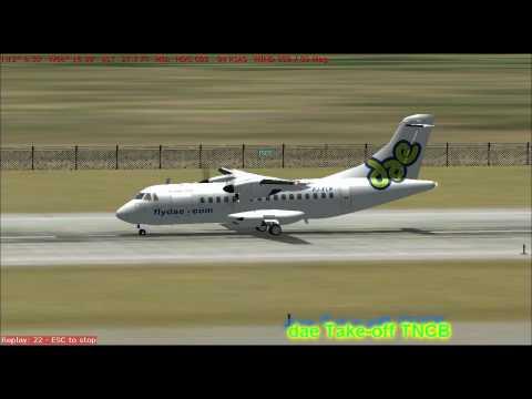 Dutch Antilles Express: Take off TNCB