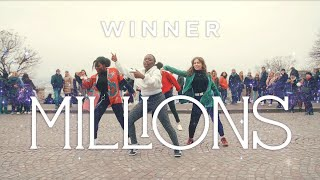 [KPOP IN PUBLIC CHALLENGE] WINNER (위너) - MILLIONS Dance cover by Magnetix Crew (From France)