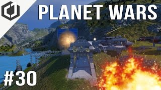 Space Engineers | PLANET WARS Ep 30 - INVASION!