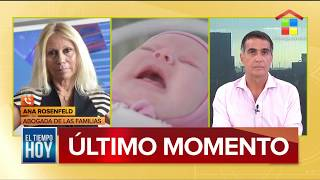 Sus bebés nacieron por subrogación de vientre en Ucrania