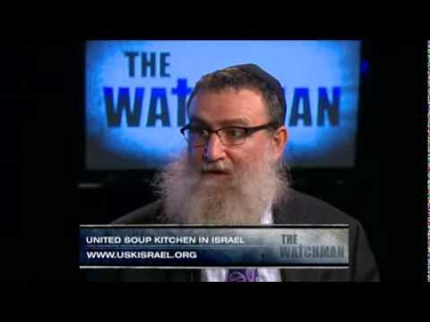 United Soup Kitchens in Israel on CBN TV, The Watchman