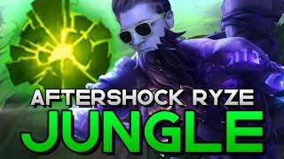 NEW META INCOMING?? REWORKED RYZE JUNGLE IS ACTUALLY NUTS   Aftershock Ryze Jungle Commentary