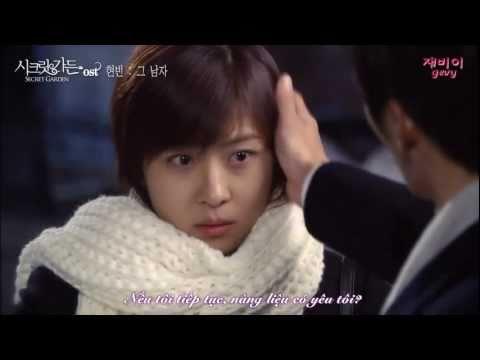 [Vietsub][MV] That Man - Hyun Bin (Secret Garden OST)