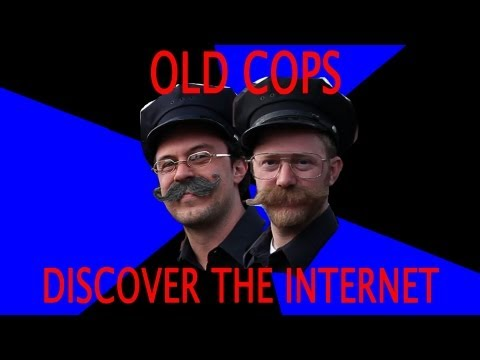 Old Cops Discover The Internet