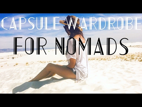 NOMAD TIPS: TOP 20 MINIMALIST CAPSULE WARDROBE ITEMS FOR EVERY CLIMATE