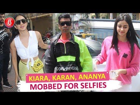 Kiara Advani, Karan Johar, Ananya Panday Oblige Fans With Selfies Mp3