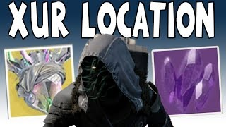 Destiny 2 - XUR LOCATION ISN'T IN A SOCIAL SPACE!