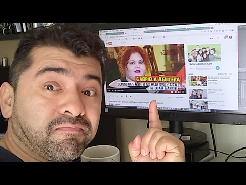 Controversia Con ADN De Claudia Gabriela Aguilera Live on Youtube!
