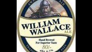#43 William Wallace 80/- Export Ale 4 5% SCOTLAND