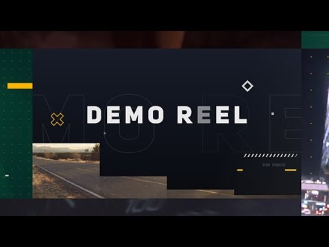 after effects demo reel