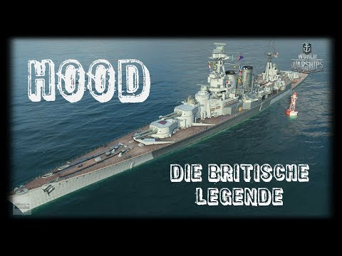 Let's Play World of Warships | Hood | Die britische Legende [ Gameplay  - German - Deutsch ]