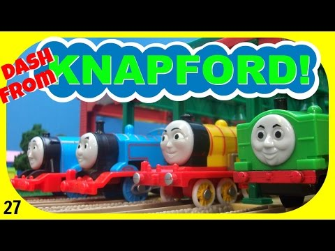 Dash From Knapford 27! Trackmaster Thomas And Friends Racing Competition!